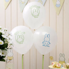 BABY MIFFY BALLOONS [8]  - Baby Shower Party Supplies Neutral
