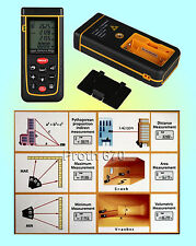 RZ-A40 Laser Distance Measurer Handheld Rangefinder Measuring Tool (0.05M - 40M)