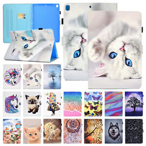 """For iPad 7th Gen 10.2"""" 2019 Leather Flip Wallet Card Shockproof Stand Case Cover"""