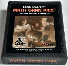 MATH GRAN PRIX ATARI 2600 VIDEO GAME CARTRIDGE GRAND