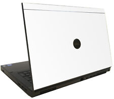 WHITE Vinyl Lid Skin Cover Decal fits Dell Precision M6600 Laptop