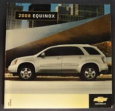 2008 Chevrolet Equinox Brochure LS LT Sport Excellent Original 08 Canadian