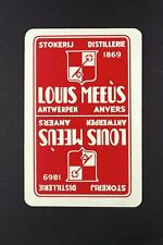 1 x Joker playing card Drink Louis Meeus Distillerie AB208