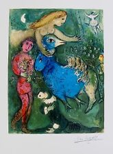 MARC CHAGALL Facsimile Signed Limited Edition Art Giclee CIRCUS FRONTISPIECE
