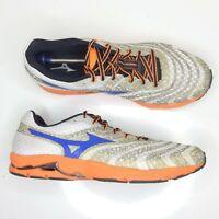 Mizuno Wave Sayonara 2: Men's 11.5  Running Athletic Shoes White/Orange/Black