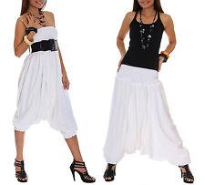White Harem pants sarouel haremshose pluderhose pumphose Hippie Baggy Yoga Pants