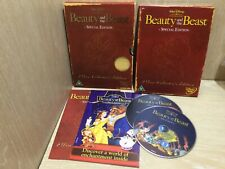 Walt Disney Beauty and the Beast Special Edition 2 Disc Collectors DVD Great