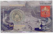 2 Euro Coincard / Infokarte Vatikan 2004 Vatikanstadt