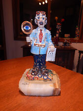 "Ron Lee ""Sid Spectacle"" #900 Rare & Vintage - $695 value signed in 1987 by Ron"