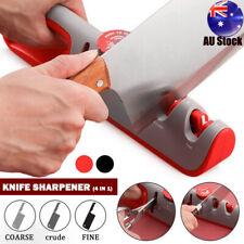 Knife Sharpener 4 Stages Scissors Sharpening stone Grinder Whetstone Sharpener