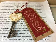 The Heart Of Christmas Santa'S Magic Key Enesco New On Card Ships In Gift Box