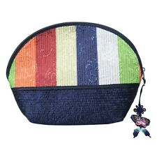 Cosmetic Pouch Navy/ Korean traditional pattern/ Korea souvenir gift