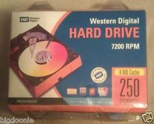 "NEW Western Digital ATA/100 EIDE 250 GB 3.5"" 7200 RPM Hard Drive WD2500JB-22GVC0"