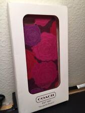 NIB Phone Case Coach IPhone 5 Hard shell Floral COACH F66786