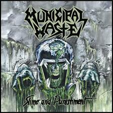 MUNICIPAL WASTE -Slime and punishment Patch Aufnäher 10x10cm