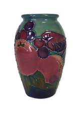 Moorcroft Pomegranate and Finches Pattern Vase - Sally Tuffin.