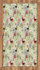 Winter Season Area Rug Decorative Flat Woven Accent Rug Home Decor 2 Sizes