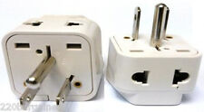 Plug Adapter Converter 2 In 1 Universal American Euro Asia Plug to USA Style