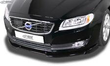 Fits VOLVO S80 (2013-2016 / V70 2013-2016) - Front Spoiler Lip Splitter