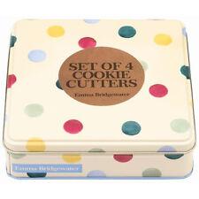 Emma Bridgewater Pois Lot de 4 emporte-pièces dans une boîte de conserve