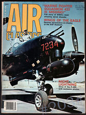 Air Classics Magazine August 1976 - MARINE SQUADRON FIGHTER 422 - HAWKER FURY