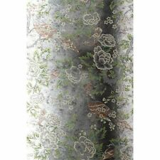 Anna French Wild Flora Songbirds Gold on Tarnished Foil Mirror Effect Feature