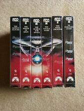 Stark Trek Movies 6 VHS Set Factory Sealed