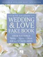 "Wedding & Love Fake Book 6th Edition - ""C"" Fakebook 239950"