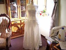 Vintage Jessica McClintock Wedding Dress Net Sleeves & Sweetheart Bodice Size 12