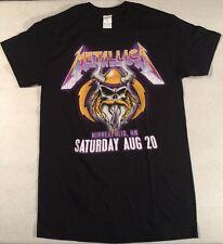 Metallica Vikings US Bank Stadium Men's Concert T-Shirt Small-New