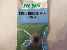 *NEW;  RCBS Shell Holder #14;  09214;  338 Lapua, 45-70 Govt, 460 Wby Mag