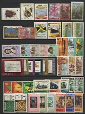 Jamaica Collection Commemorative Stamps Mounted Mint + Unmounted Mint