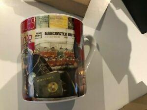 BNIB Brand New in Box Paul Smith Manchester United MUFC Bone China Mug