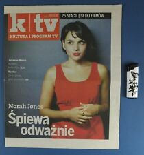 NORAH JONES mag.FRONT cover 2010 Poland Tim Roth,Julianne Moore,Brad Pitt,C.Owen