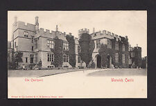 38340/ AK - Warwick Castle - The Courtyard - *