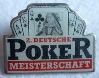 POKER 2. DEUTSCHE MEISTERSCHAFT 1994 TEILNEHMER PIN