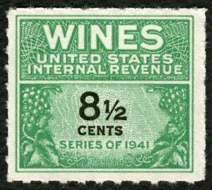 #RE184 8 1/2c Wines, Mint NGAI NH [2] ANY 4=