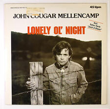 """12"""" Maxi - John Cougar Mellencamp - Lonely Ol' Night - B2845 - washed & cleaned"""