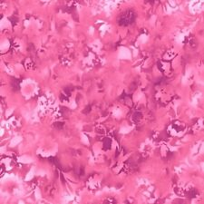 Fusions Bloom-Petunia By Robert Kaufman-BTY-Light Pink & Dark Pink