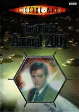 DOCTOR WHO ~ The Official Annual 2007 ~ BBC Hardback **FREE P&P**