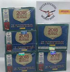 SALE, MEGA PRICE FIFA WORLD CUP RUSSIA 2018 PANINI RUSIA 12 boxes PANINI