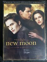 The Twilight Saga: New Moon (DVD, 2009, 3-Disc Set, Deluxe Edition)