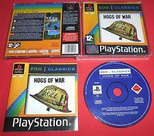 Playstation PS1 Hogs Of War Les Cochons de Guerre [PAL-Fr] One 2 Two *JRF*