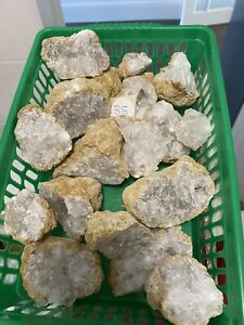 Clear Quartz Crystal Cluster Bundle Job Lot Clusters