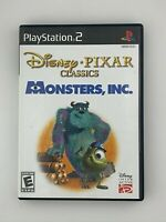 Monsters, Inc. - Playstation 2 PS2 Game - Complete & Tested