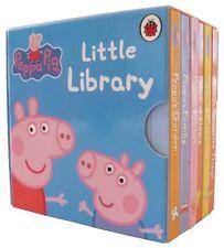 Peppa Pig Little Library ** 6 Board Books (Mini) NEW!