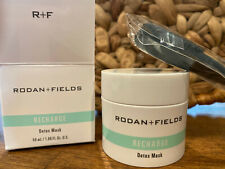 Sealed Rodan + Fields New Product RECHARGE DETOX MASK with Application Brush