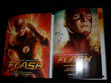 Abbie Bernstein signed & dated The Art and Making of The Flash 1/1 SC book