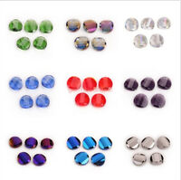 Wholesale 14 18mm Faceted Glass Crystal Rondelle Beads Spacer Loose Bead 10Pcs