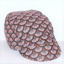 NEW CYCLING CAP SPORTS BICYCLES PUSHBIKES ONE SIZE LILAC COTTON UK HANDMADE E614